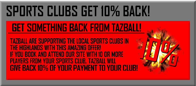 Sports Clubs - 10% Back