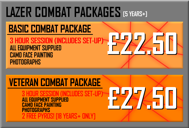 Lazer Combat Packages