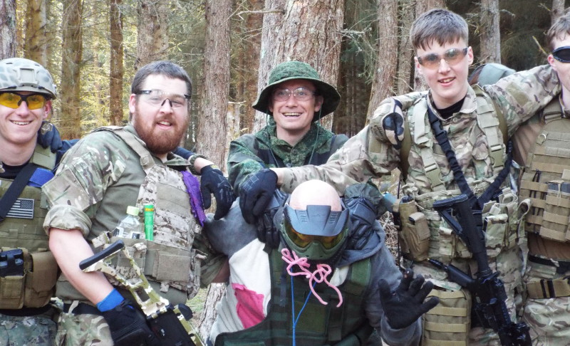 Stag Party Airsofters