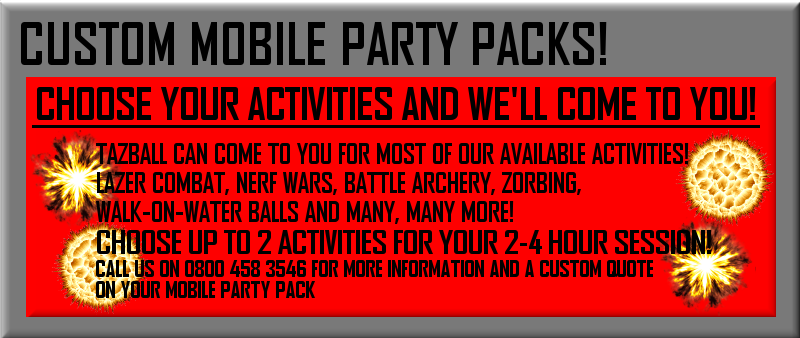 Custom Mobile Party Packs