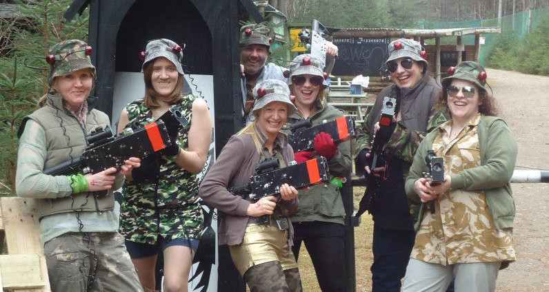 Stags & Hens Lazertagging